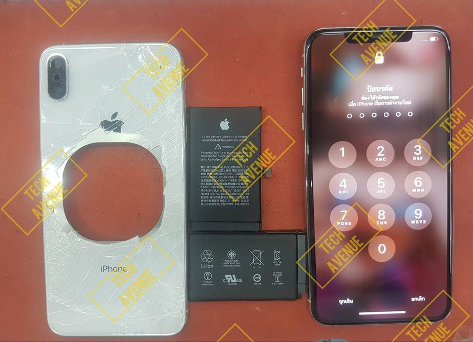 มือถือ iPhone (ไอโฟน) XS Max บอดี้แตก ซ่อมร้านไหนคุ้มสุด