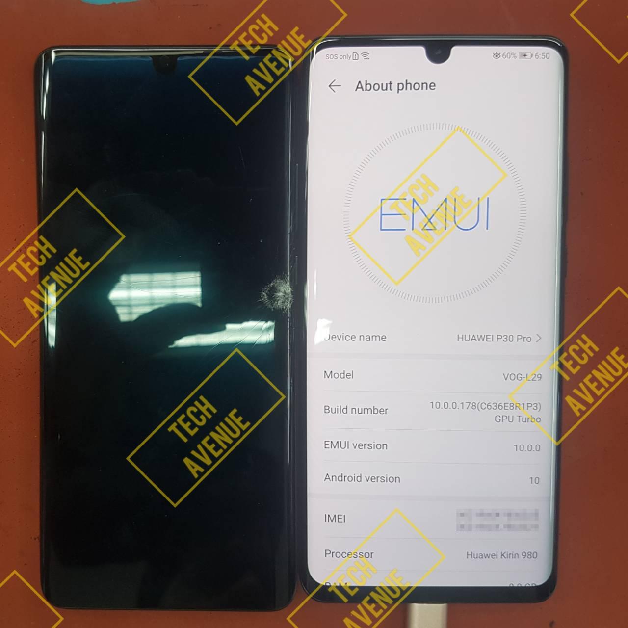 เปลี่ยนจอ Huawei หัวเว่ย P30 Pro ของแท้ ราคาถูก ร้านไหนดี 🥇 ศูนย์ซ่อม โทรศัพท์มือถือ มือถือทุกรุ่น ทุกยี่ห้อ iPhone | Apple | Samsung | Huawei