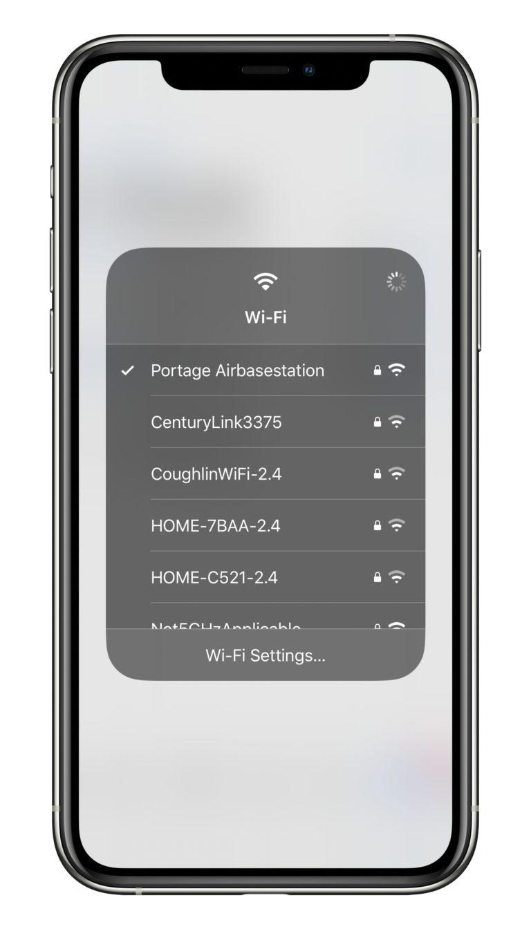 เมื่อ iPhone (ไอโฟน) 8 ไม่เชื่อมต่อกับเครือข่าย Wi-Fi ทำยังไง