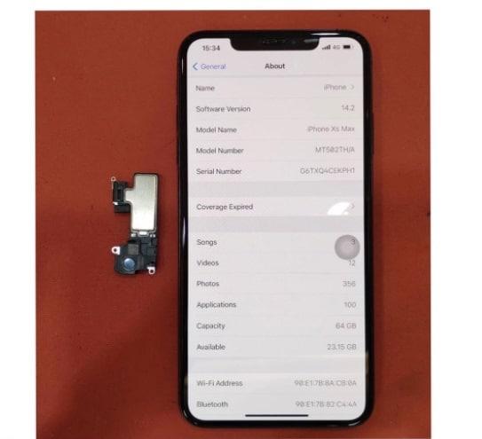iPhone (ไอโฟน) XS Max ปลายทางไม่ได้ยินเสียง ส่งซ่อมร้านไหนดี