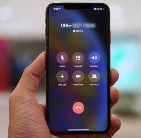 iPhone (ไอโฟน) XS Max โทรแล้วสายหลุดตลอด แก้ยังไงดี