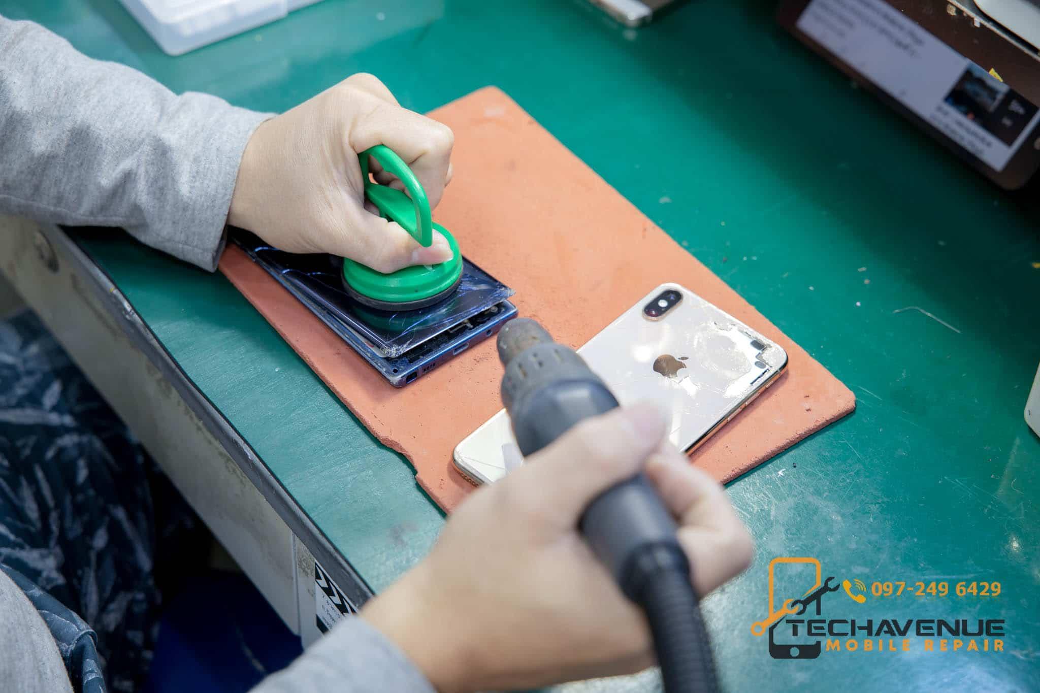 ซ่อมมือถือ แถว มหาวิทยาลัยศรีนครินทรวิโรฒ (มศว) ร้านไหนดี บริการซ่อมดีที่สุด