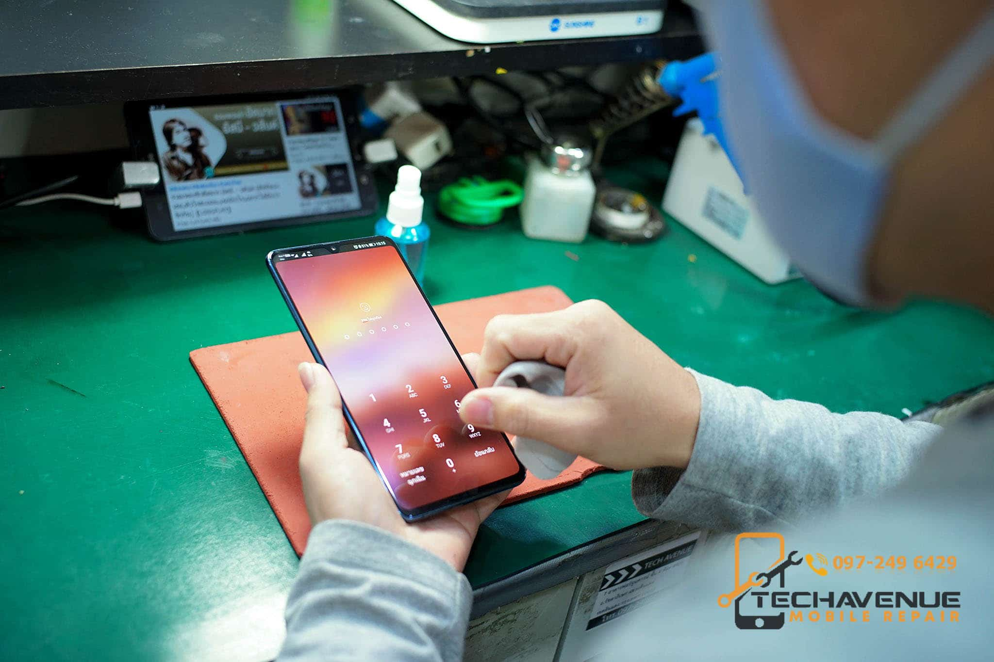 Huawei (หัวเว่ย) P20 เครื่องร้อน ส่งซ่อมมือถือร้านไหนดีที่สุด