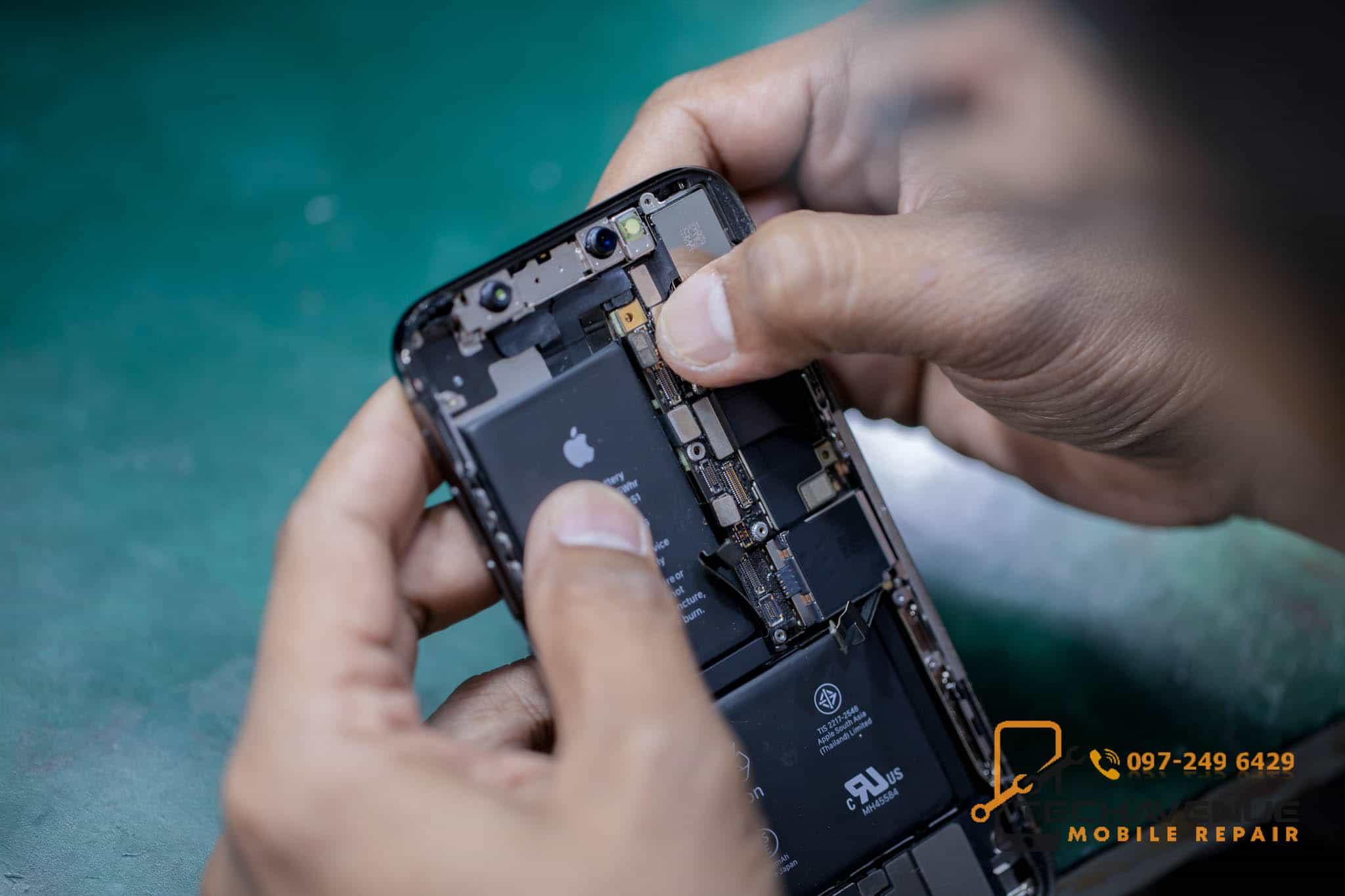 iPhone (ไอโฟน) XS แบตบวม ส่งซ่อมที่ไหน ราคาถูก
